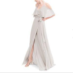 Joanna august Lauren long Rolling Stone dress sz L